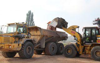 RADLADER CAT 938 M in Arbeit