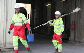 Kolb Industriereinigung Arbeiter